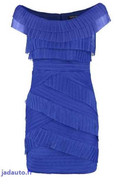 Morgan robe bleu