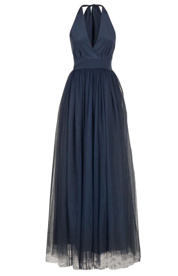 Naf naf robe bleu marine