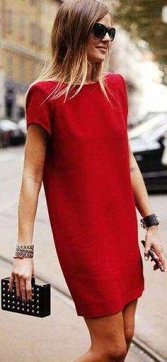Porter une robe rouge à un mariage
