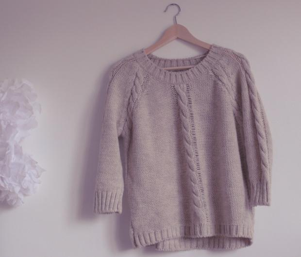 Pull en laine femme zara