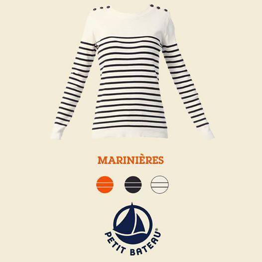 Pull marinière femme pas cher