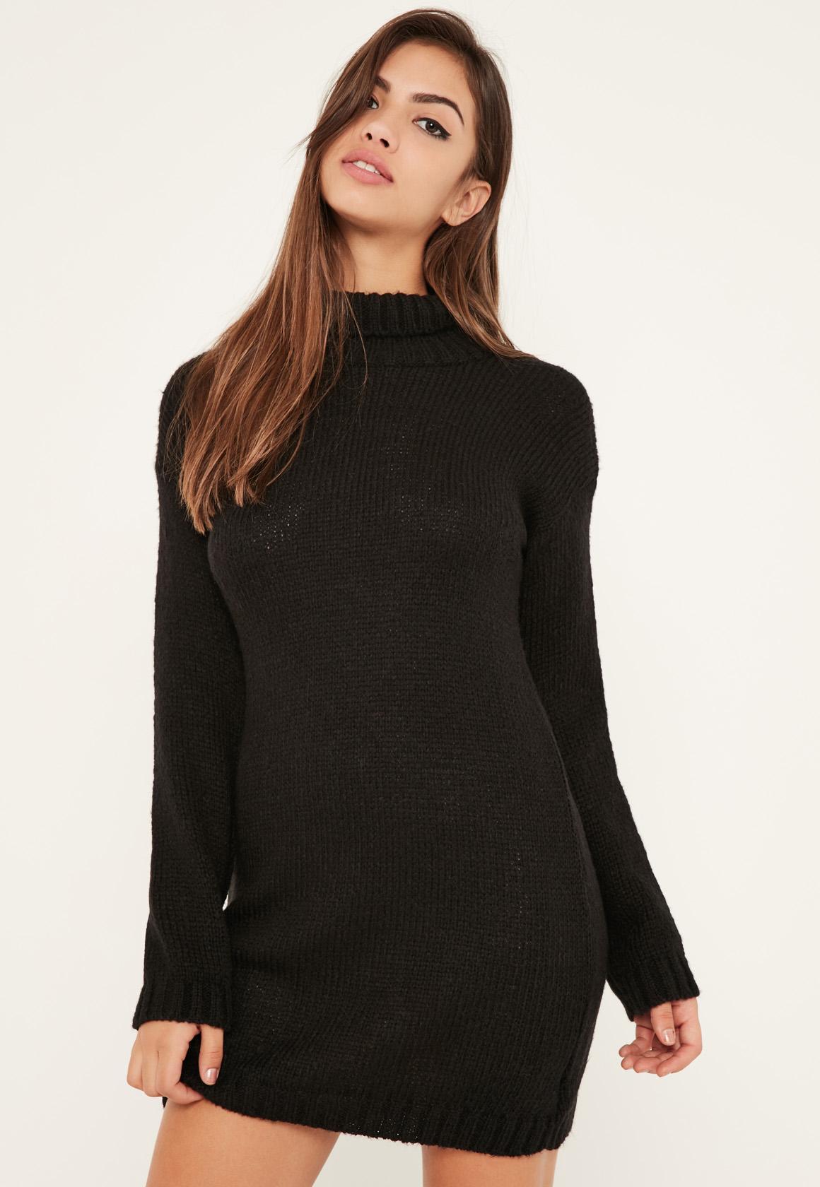 Pull robe noir