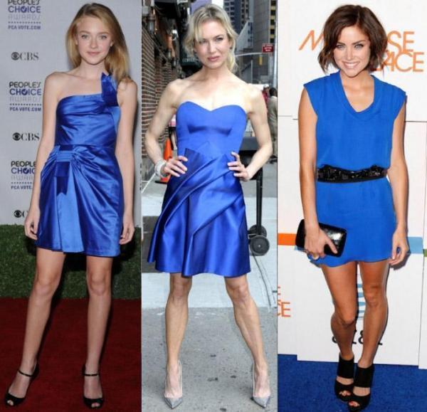 Que mettre avec une robe bleu