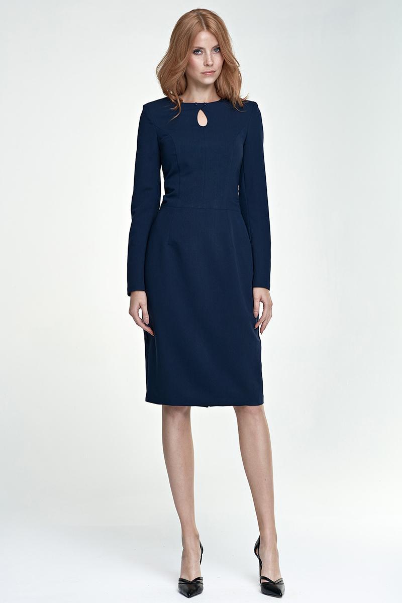 Quelle chaussure avec robe bleu marine