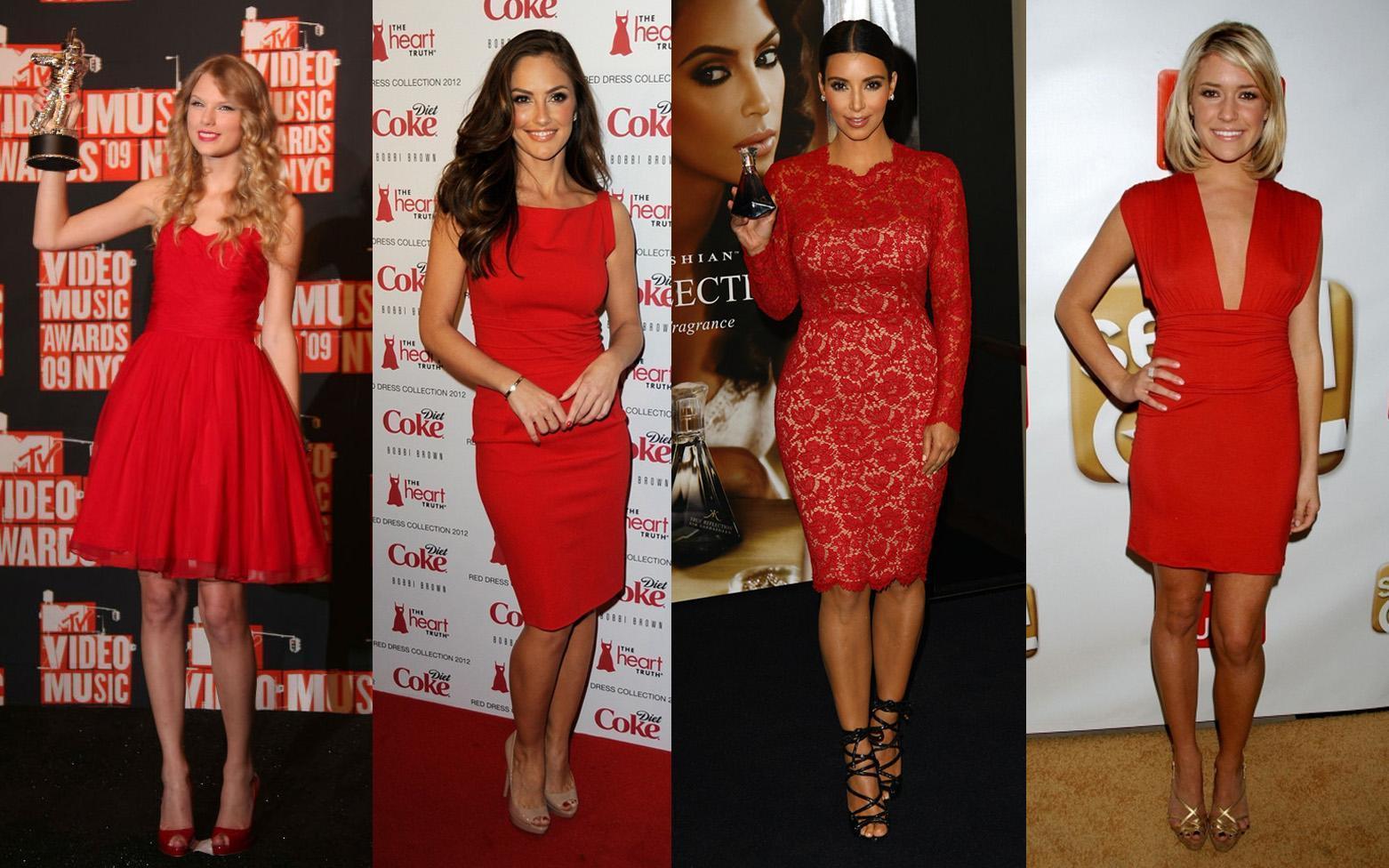 Quelle chaussure avec une robe rouge