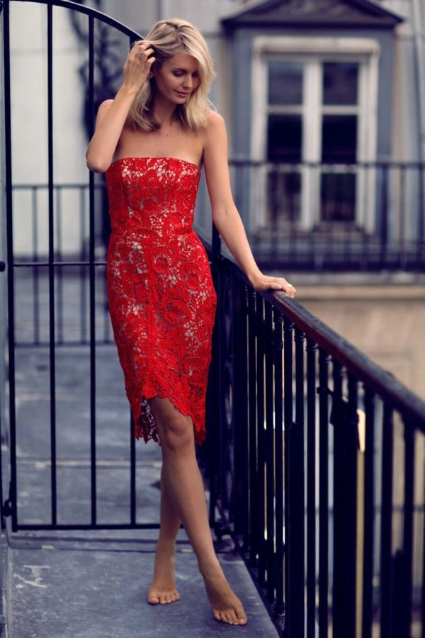Rever de robe rouge