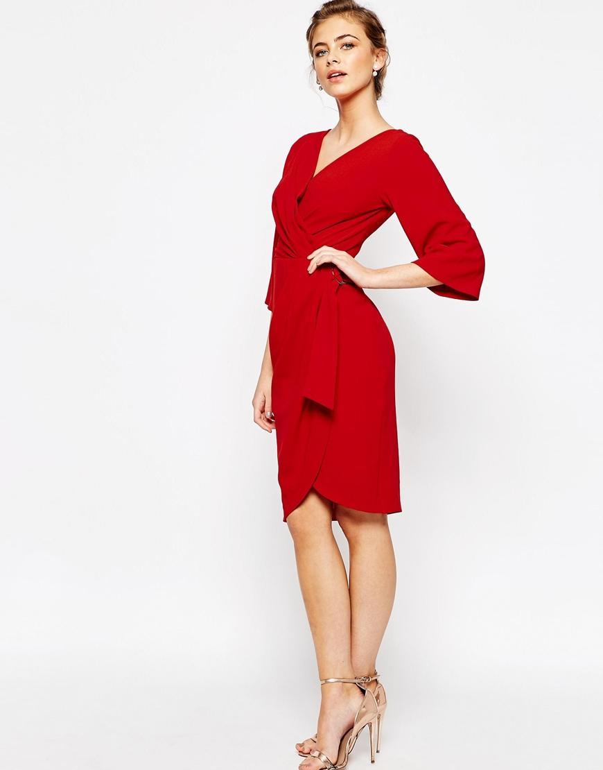Robe été rouge
