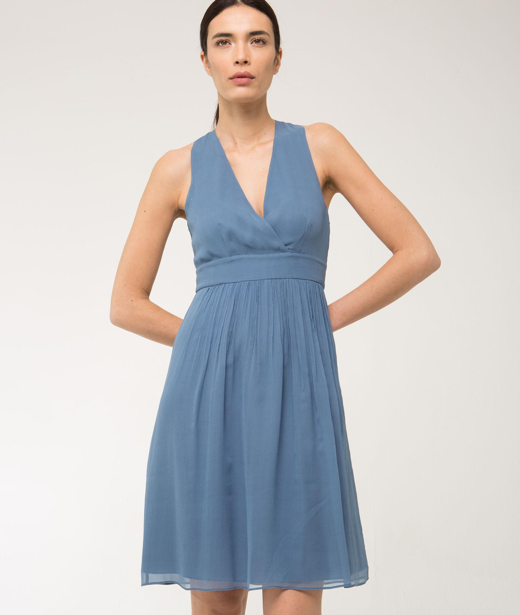 Robe 123 bleu
