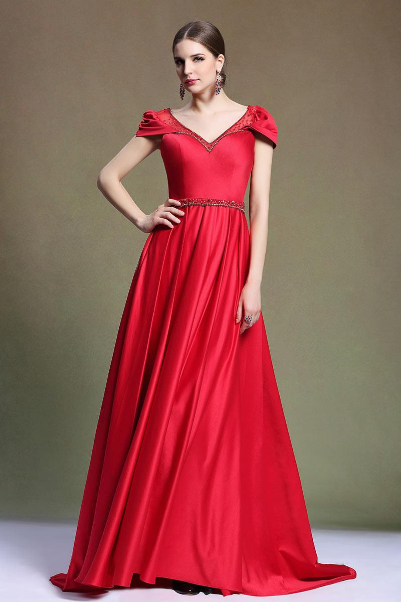 Robe bal rouge