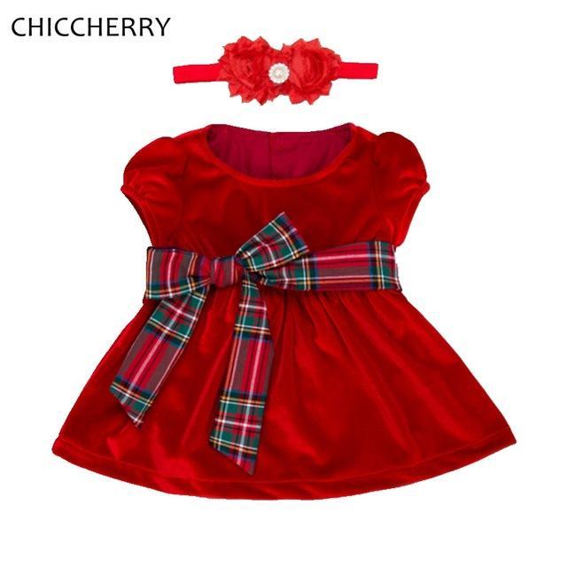 Robe bebe rouge
