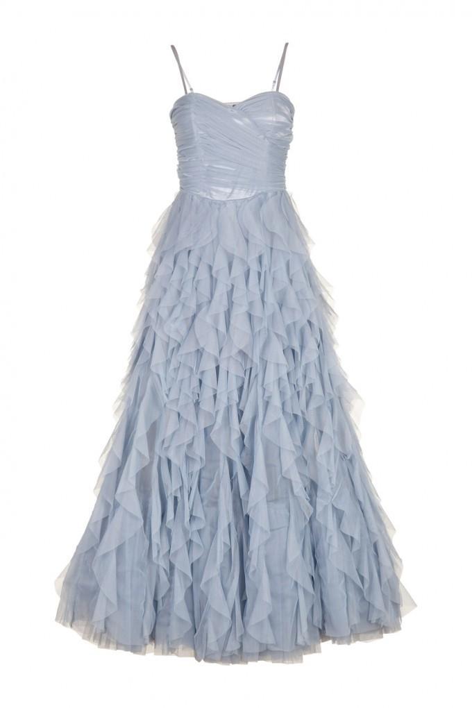 Robe bleu ciel naf naf