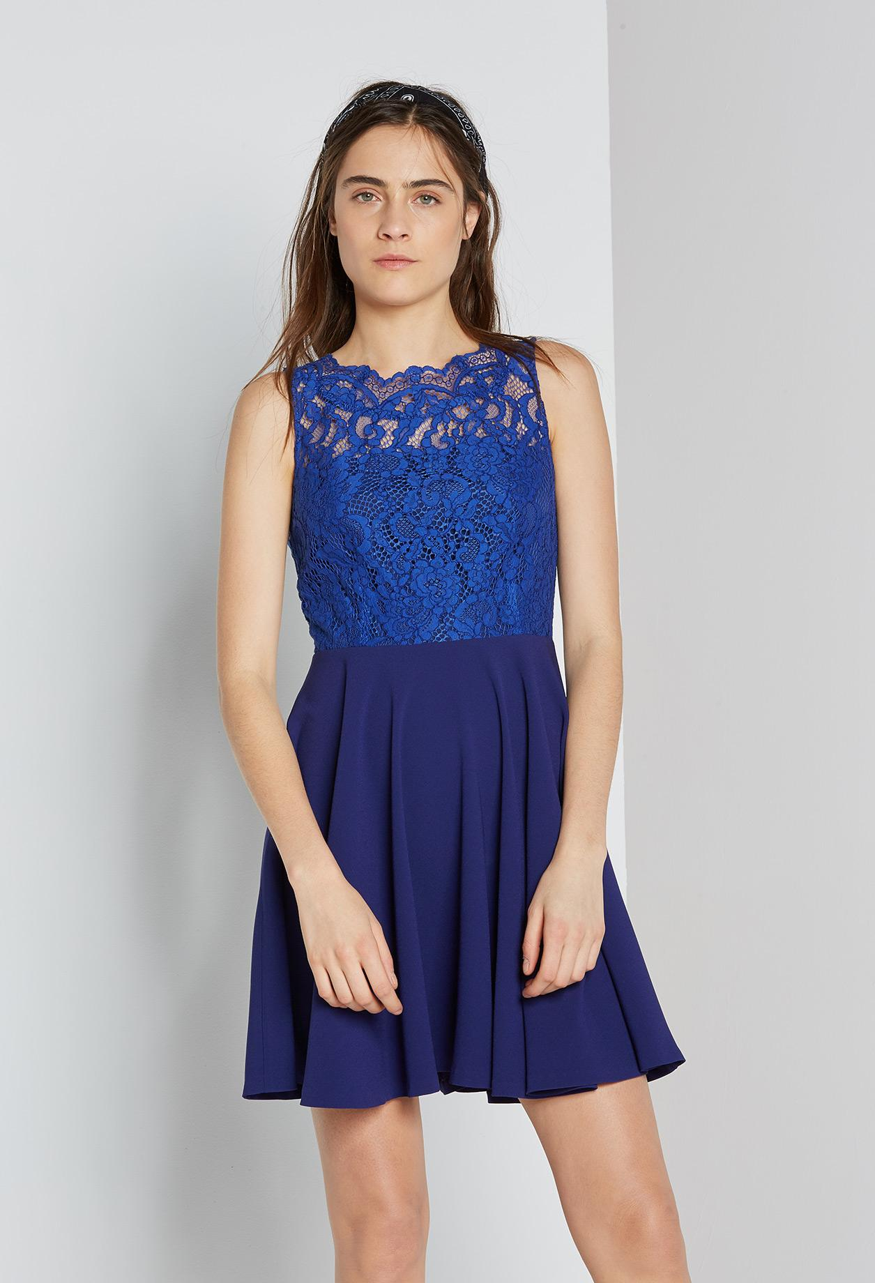 Robe bleu claudie pierlot