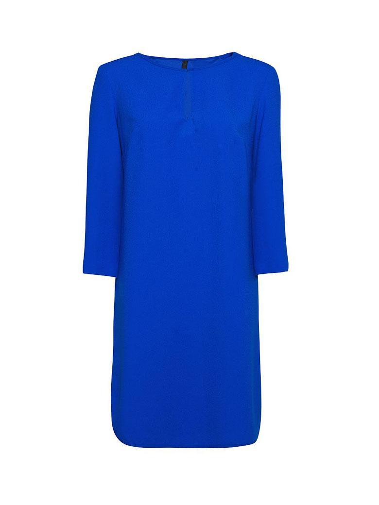 Robe bleu electrique mango