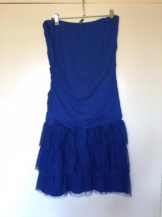 Robe bleu electrique naf naf