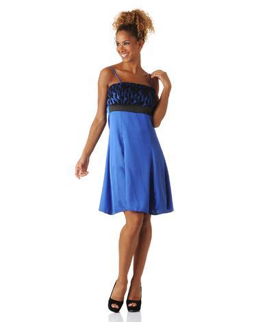 Robe bleu electrique pas cher