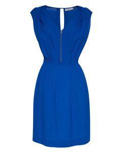 Robe bleu electrique sandro