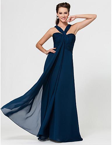 Robe bleu encre