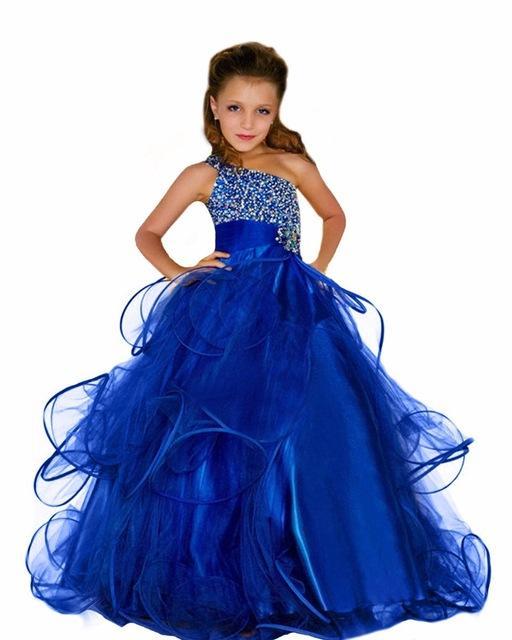 Robe bleu enfant
