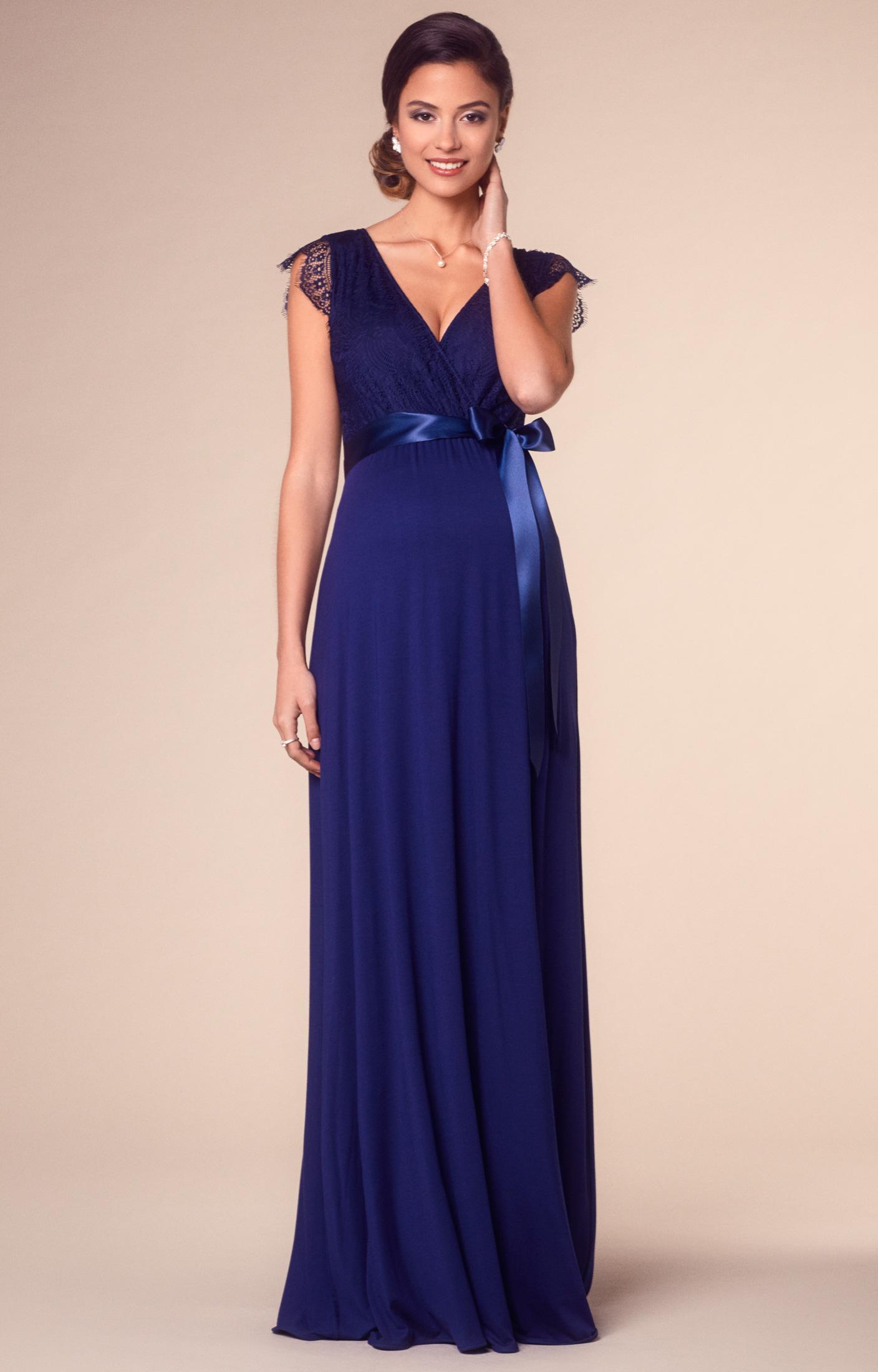 Robe bleu indigo
