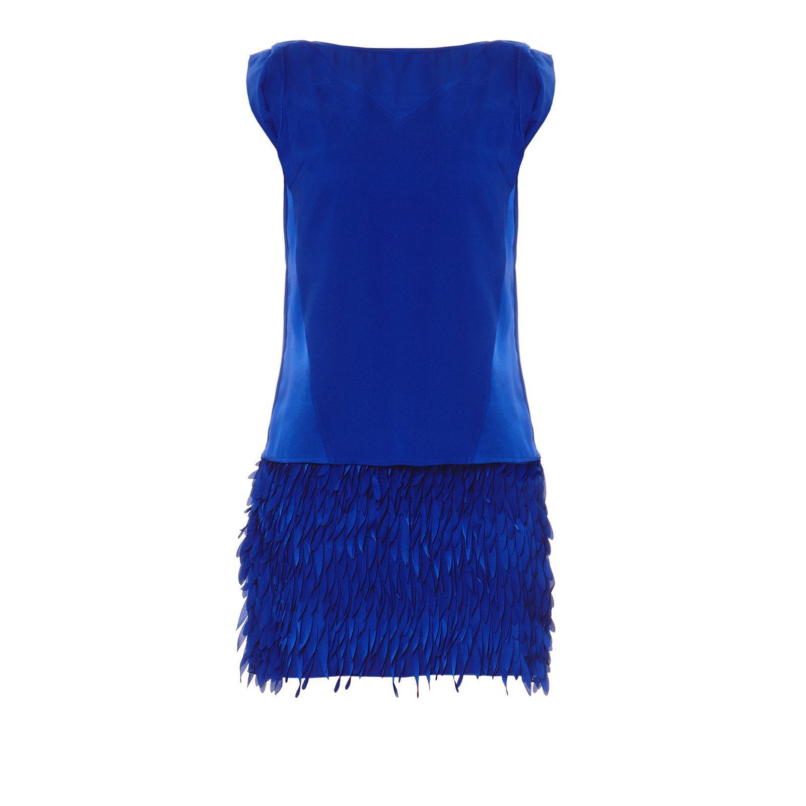 Robe bleu kookai