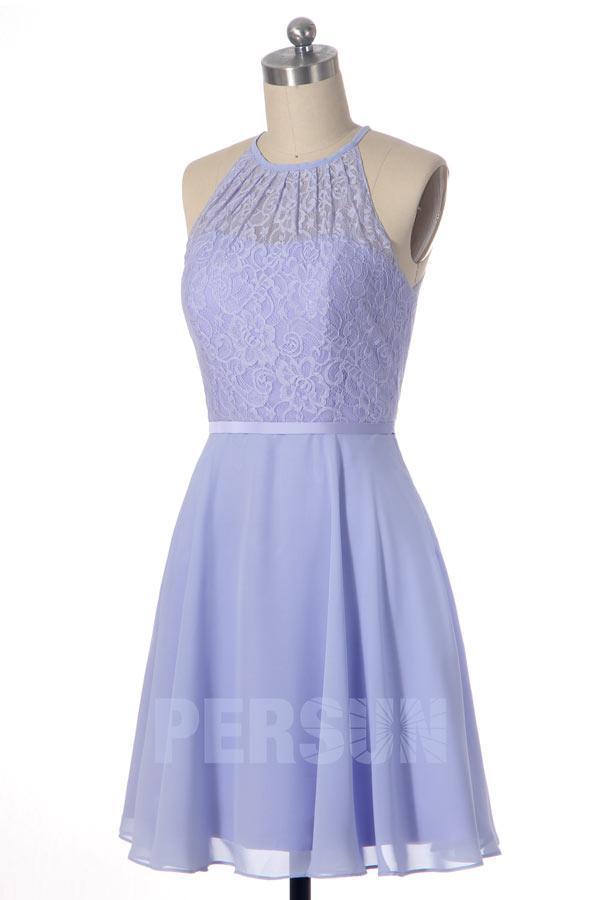 Robe bleu lavande