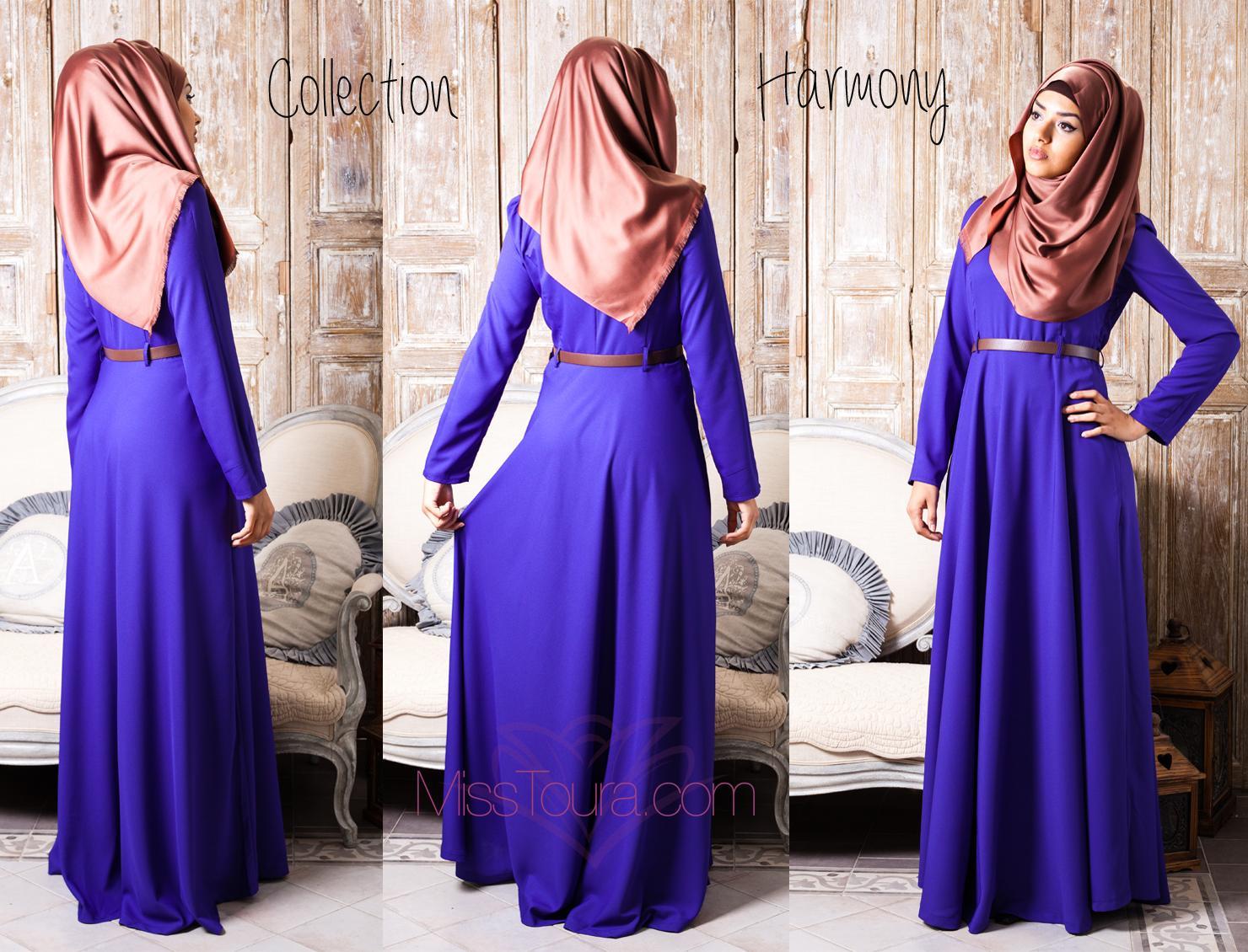 Robe bleu majorelle