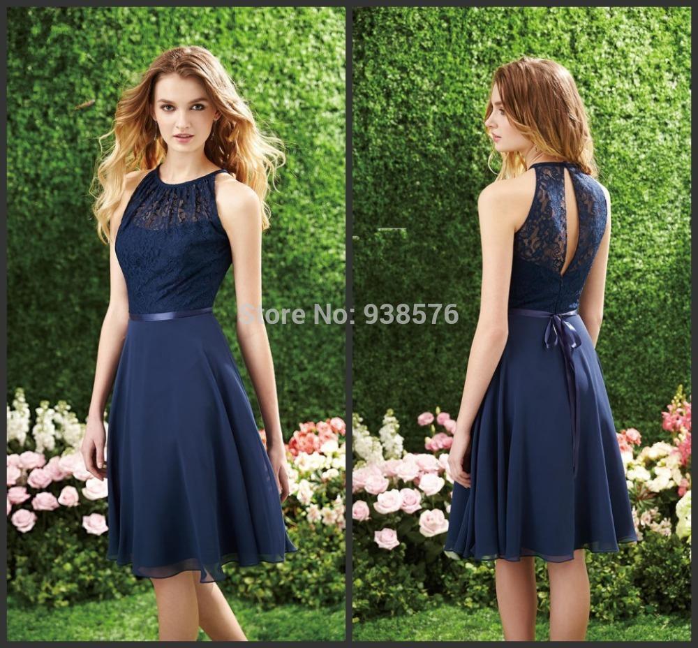 Robe bleu mariage