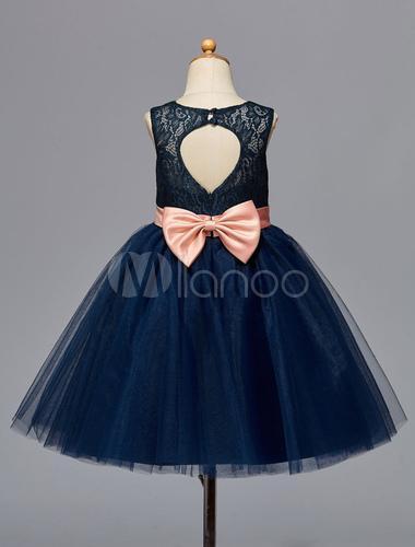 Robe bleu marine enfant