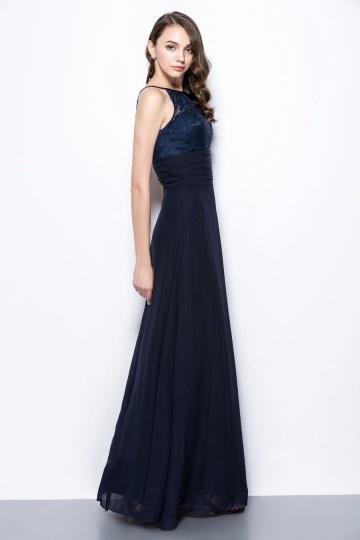 Robe bleu marine longue