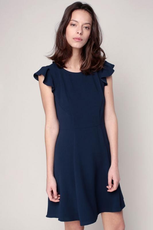 Robe bleu marine pour mariage