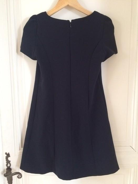 Robe bleu marine zara