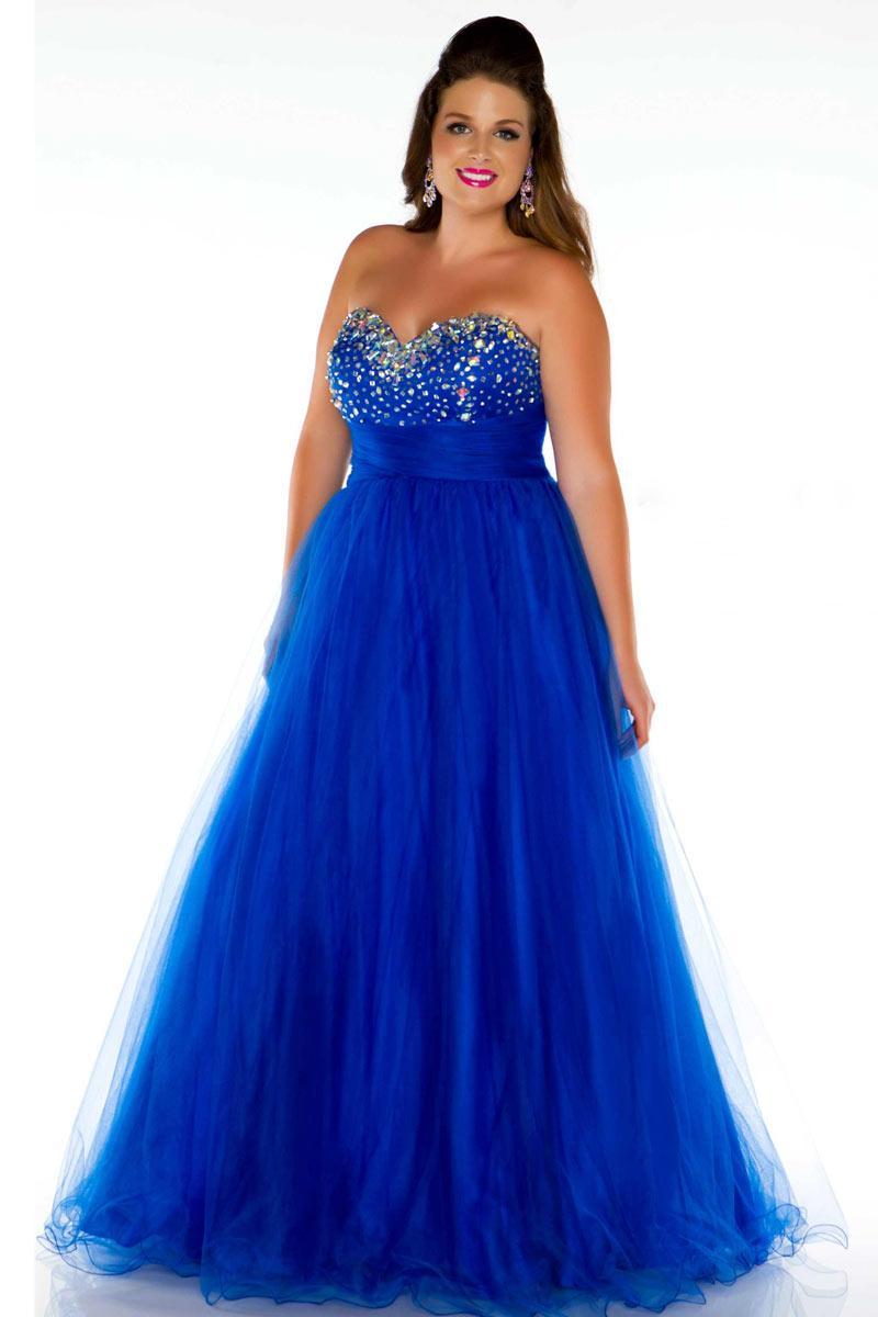Robe bleu princesse