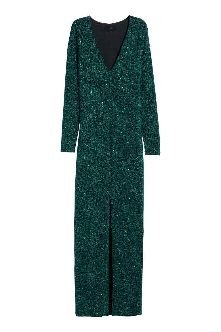 Robe bleu turquoise h&m