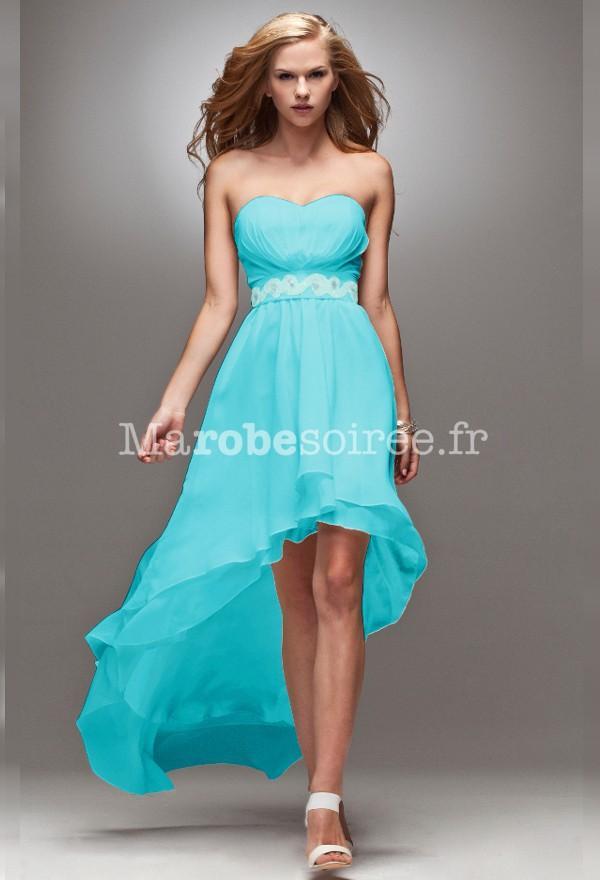 Robe bleu turquoise pour mariage