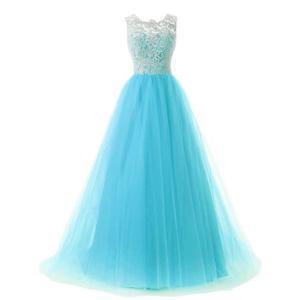 Robe bleu turquoise