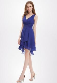 Robe bleu violet