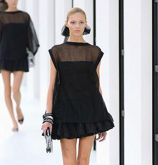 Robe chanel noir
