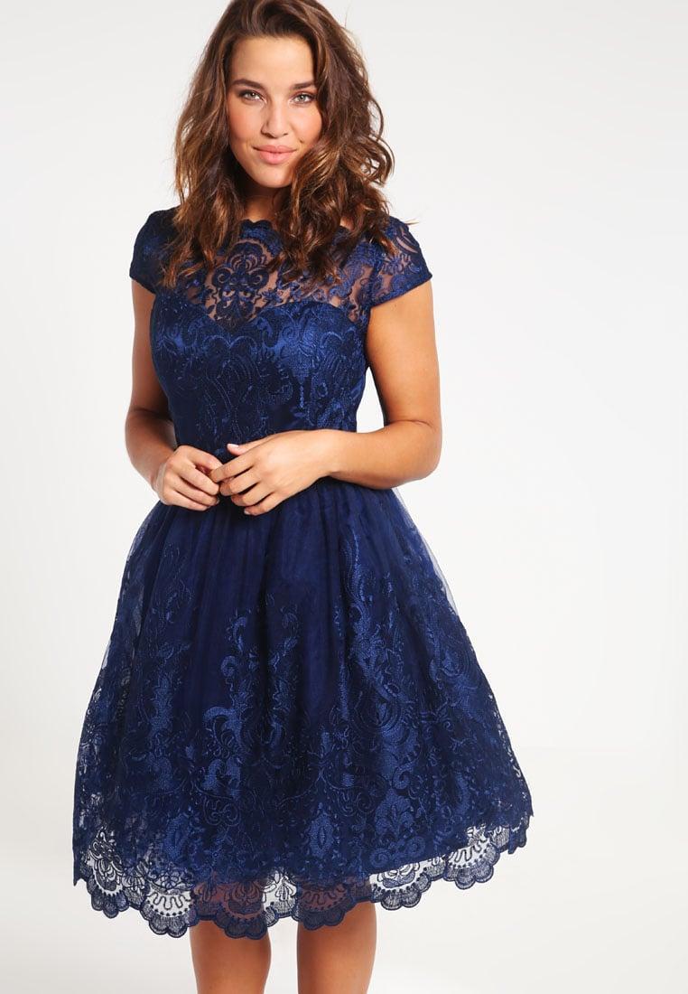 Robe chichi london bleu