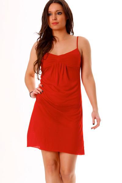 Robe d été rouge