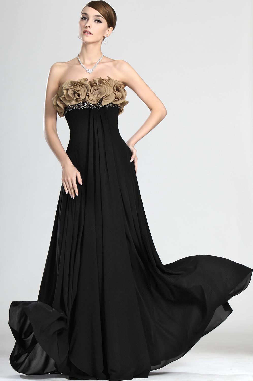 Robe de ceremonie noir