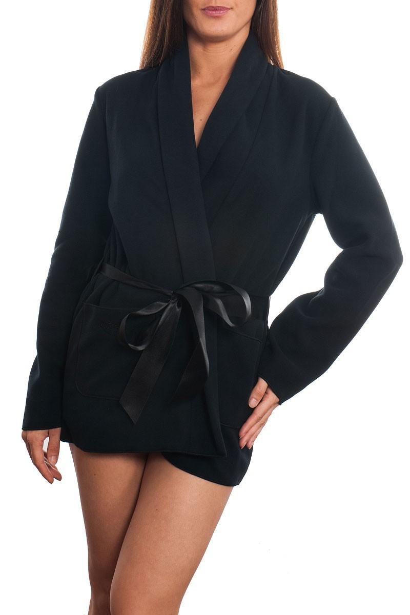 Robe de chambre noir