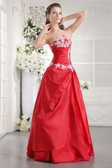 Robe de demoiselle d honneur rouge