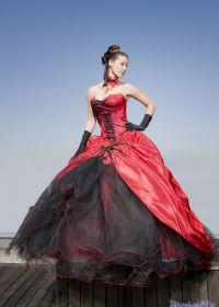 Robe de mariée rouge tati