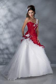 Robe de mariée tati 2013 rouge