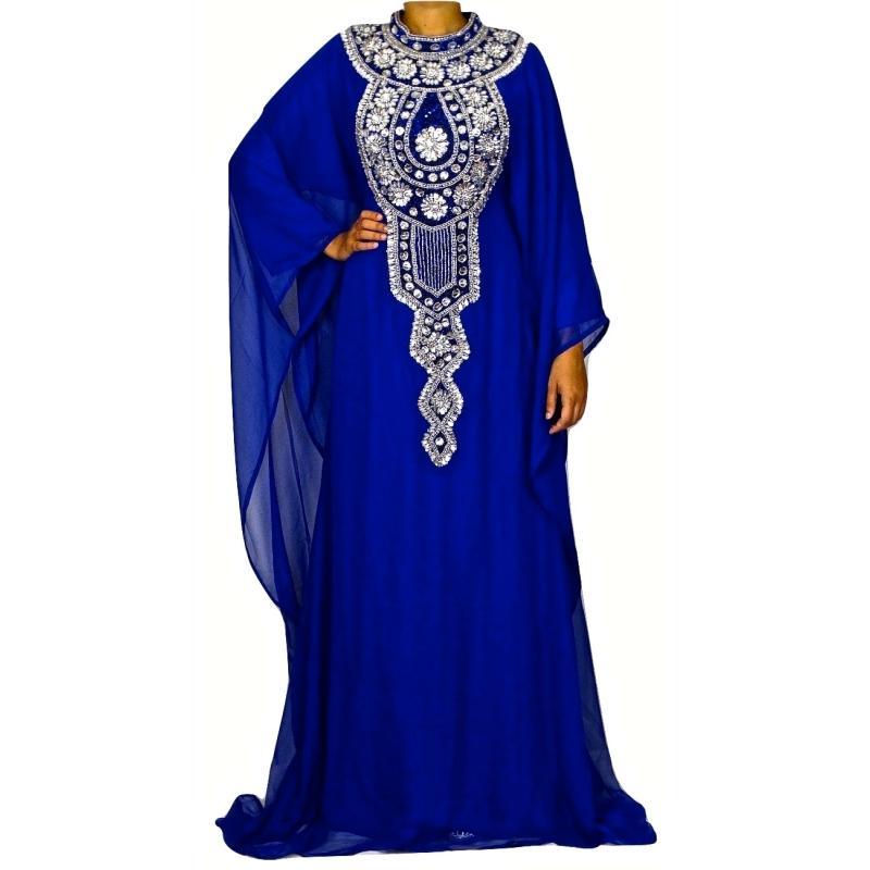 Robe dubai bleu