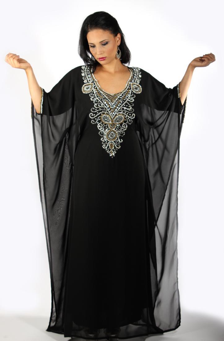 Robe dubai noir