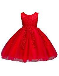 Robe enfant rouge