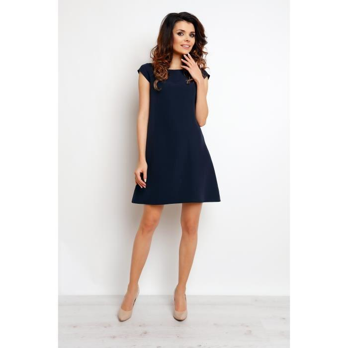 Robe femme bleu marine