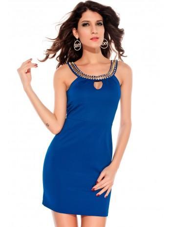 Robe femme bleu