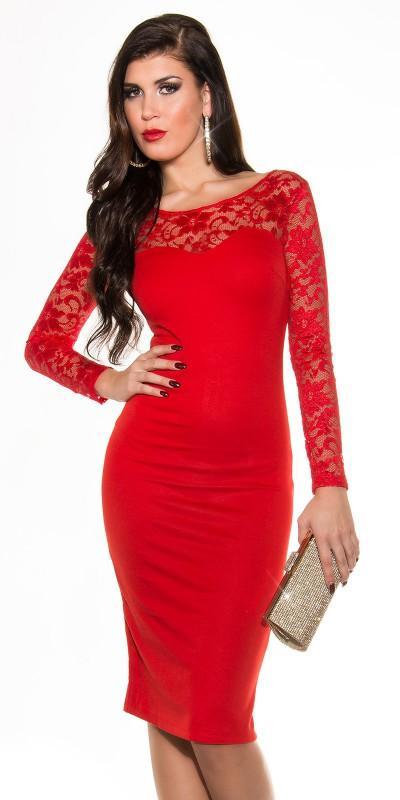 Robe femme rouge